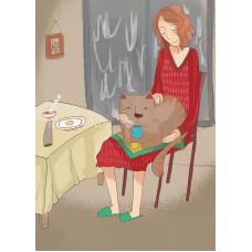 Вечер с котом