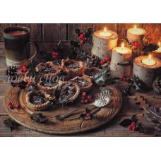 Десерт при свечах