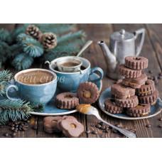 Кофе и имбирное печенье